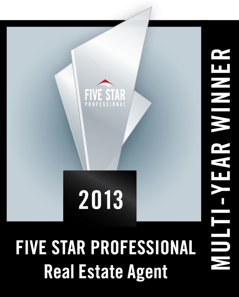 2013 Five Star Award - Multi Year Winner