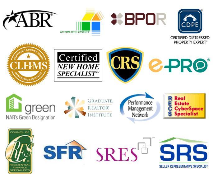 Designations & Certifications 2015