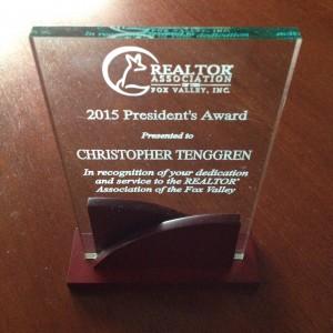 2015 RAFV Pres Award