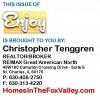 "Christopher Tenggren's October '15 ""Enjoy Magazine"""