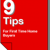 9 Tips For First Time Buyers