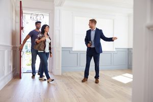 Realtor Showing New Home